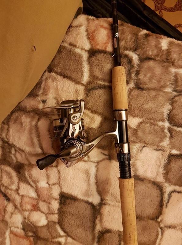 Ritė ir spiningas žvejybai
