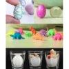 Išsilukštenantys iš kiaušinių drakoniukai